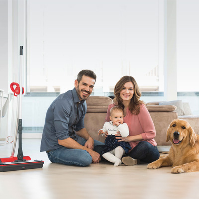Moppy cordless mop to clean with steam - protect your family and the environment
