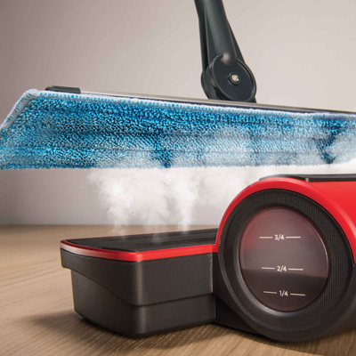 Moppy cordless mop to clean with steam - certified effectiveness