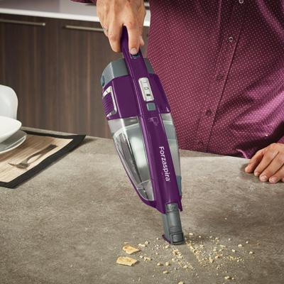 Forzaspira: cordless stick vacuum cleaner with handheld unit