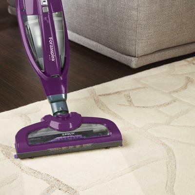 Forzaspira: stick vacuum cleaners for fine dust