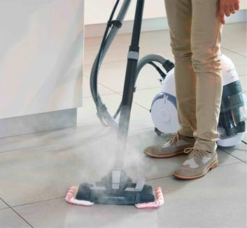 Unico multifunction vacuum cleaner - Kitchen cleaning