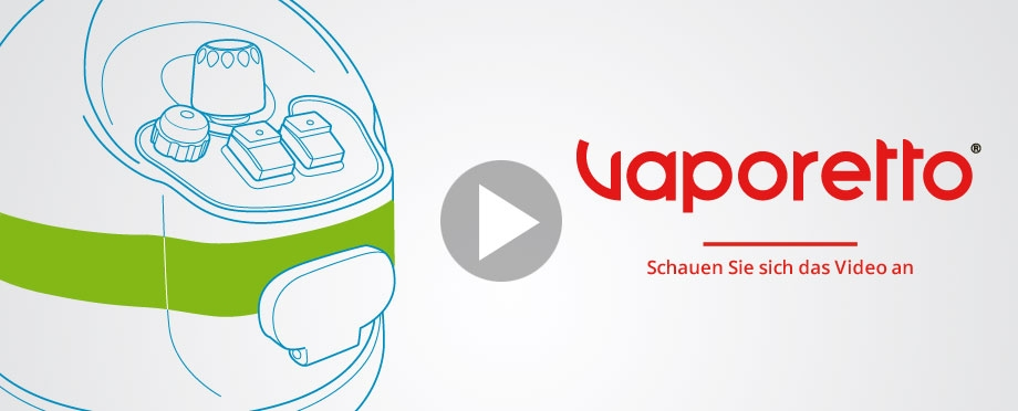 Vaporetto steam cleaner video demo