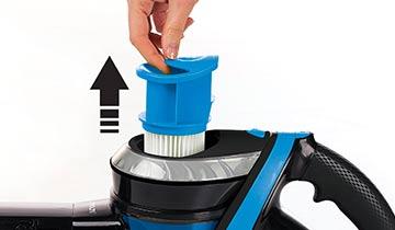 Polti Forzaspira Slim SR100 kit accessories - washable Hepa Filter