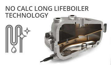 La Vaporella XB60C - NEW BOILER: SYNONYMOUS WITH RELIABILITY