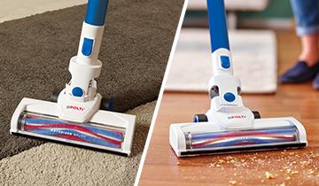 Forzaspira SLIM SR90B_Plus - lightweight vacuum-cleaner for all surfaces