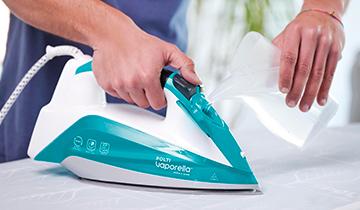 Polti Vaporella Quick & Slide QS210: remplissage avec de l'eau du robinet uniquement