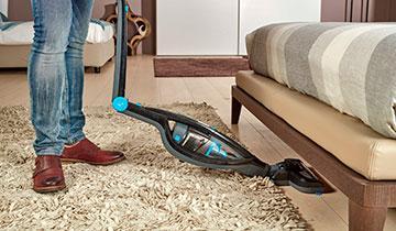 Forzaspira SE 18.5 stick vacuum - Folding handle, with a click