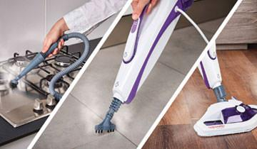 Vaporetto SV440 Double steam mop - Eliminates germs, viruses and bacteria