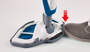 Steam Mop Polti Vaporetto SV460_Double: steam mop and hands always clean