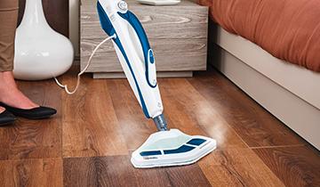 Steam Mop Polti Vaporetto SV460_Double: steam mop also for delicate surfaces