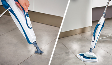 Steam Mop Polti Vaporetto SV460_Double: steam mop and integrated portable cleaner