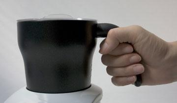 Cappuccì milk frother is practical