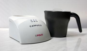 Cappuccì milk frother is easy to clean