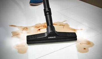 Steam cleaner with integrated water filtration vacuum for Polti lecoaspira parquet