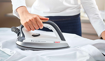 Fluid Curve iron - accessory for Polti Vaporetto Lecoaspira: shirt ironing