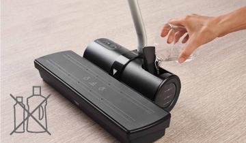Moppy Red soluzione per la pulizia con vapore e spazzolone senza filo - proteggi l'ambiente