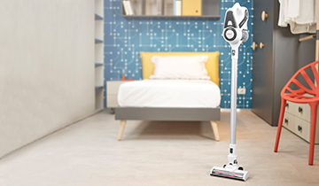 Forzaspira SLIM SR90G - portable vacuum cleaner, stands alone