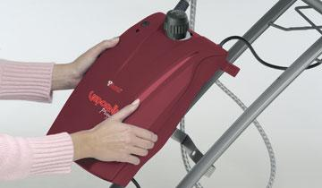 Vaporella Power System - integrated steam generator iron