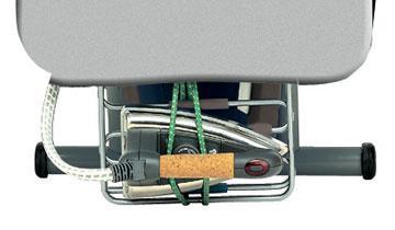 Vaporella Power System - Iron rest, cable holder and laundry shelf