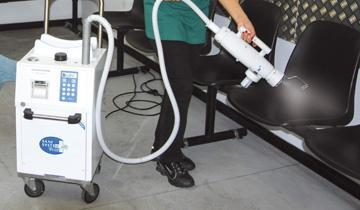 Sani System Polti Check appliance for fast sanitisation