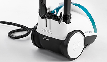 Polti Vaporetto Smart 100: steam cleaning with accessories for all surfaces