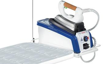Vaporella Ironing Board-comfortable for ironing faster