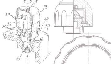 Vaporella Prof 1300 - Detail boiler safety cap