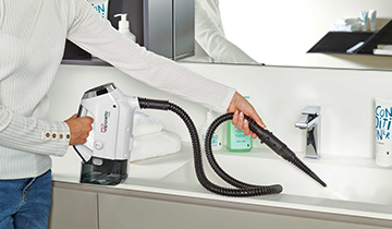 Vaporetto 3clean: eliminates 99.9% of germs and bacteria