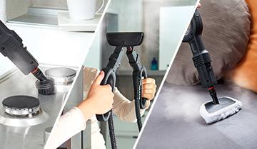 Vaporetto Smart 120: pulitore a vapore per la pulizia di tutte le superfici