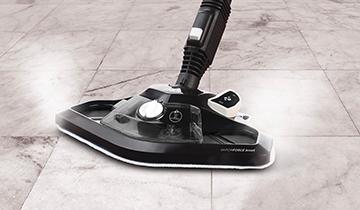 Polti Vaporetto Smart 120: pulitore a vapore con ampia spazzola