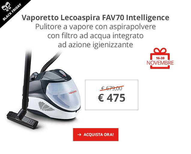 Black Friday: Vaporetto Lecoaspira FAV70 -30%