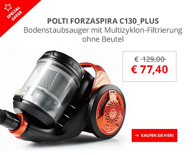 POLTI Forzaspira C130_Plus 40% Sonderrabatt