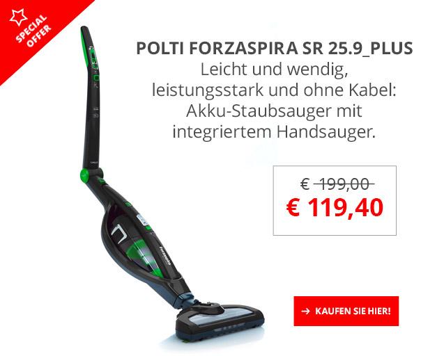 POLTI Forzaspira SR25.9_Plus 40% Sonderrabatt