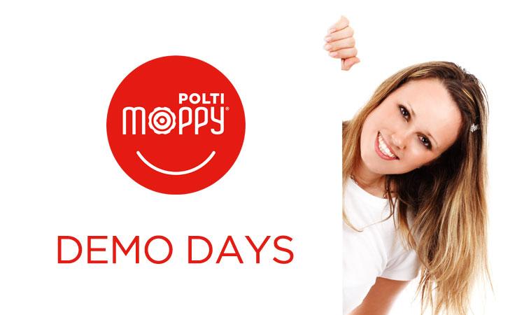 Demo Days: scopri Moppy dal vivo nei punti vendita