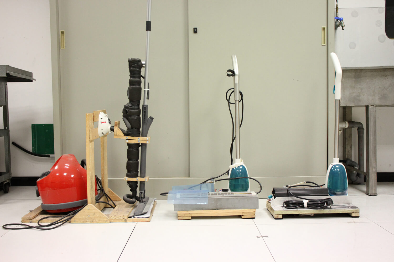 Les premiers prototypes Moppy