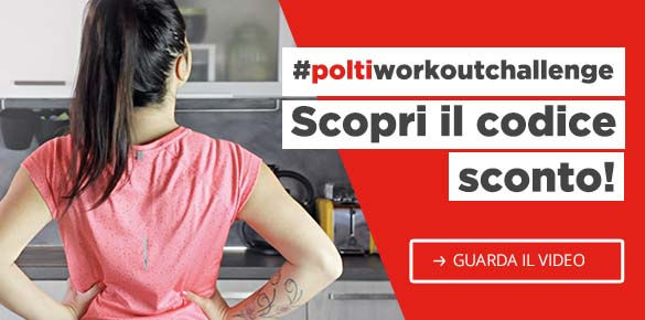 Le pulizie ti tengono in forma: scopri il workout di Polti e approfitta del codice sconto del 30%