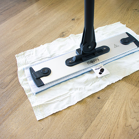 Reusable dusting cloths: Polti Moppy