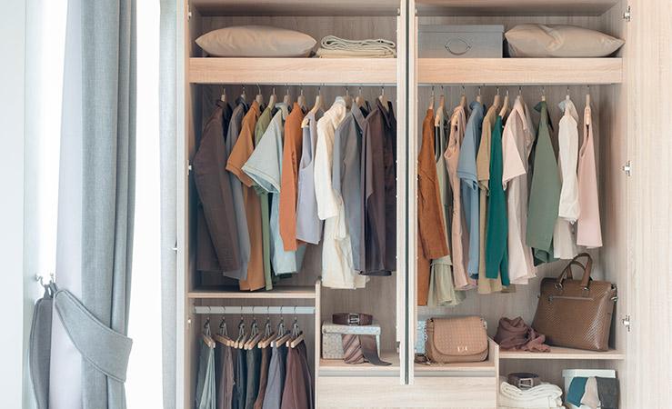 Cómo tener un armario planchado con prendas sin arrugas
